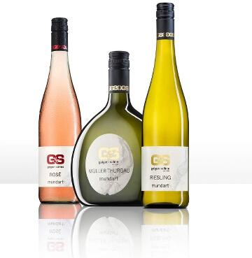Mundart von Geiger und Söhne - ein Kabinett trockener Weißwein