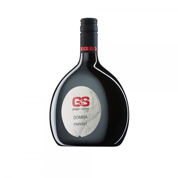 Domina Rotwein aus Franken Mundart trocken im Bocksbeutel