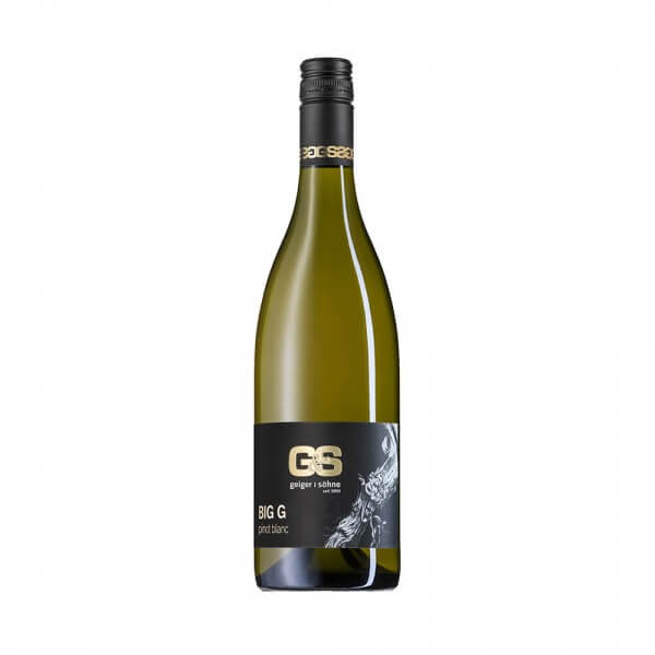 Pinot Blanc Weißwein aus Franken Big G trocken Holzfass