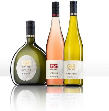 Mundfein von Geiger und Söhne - Kabinett halbtrockene Weiß- und Rotweine