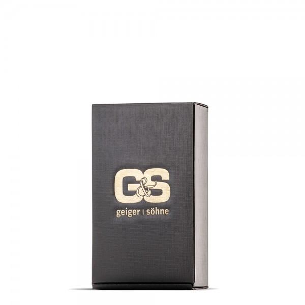 Präsentkarton mit gold geprägtem G&S Logo Einzelverpackung für Bocksbeutel