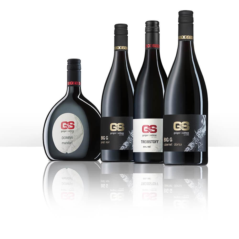 Rotweine von Geiger und Söhne