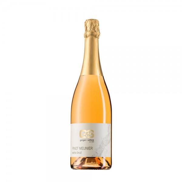 Pinot Meunier Rosé Sekt aus Franken extra brut