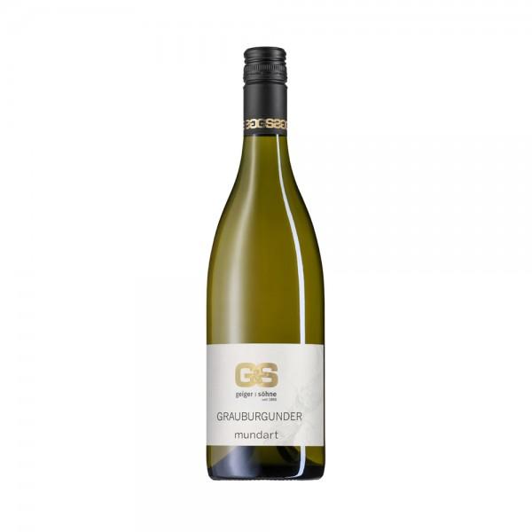 Grauburgunder Weißwein aus Franken Mundart trocken
