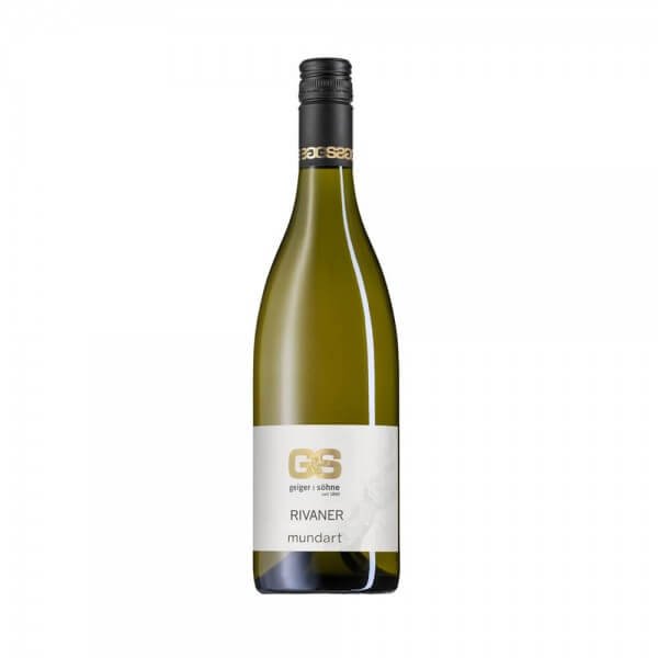 Rivaner Weißwein aus Franken Mundart trocken