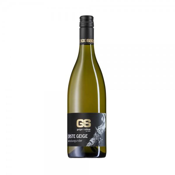 Weißburgunder Weißwein aus Franken Erste Geige trocken Doppelstück