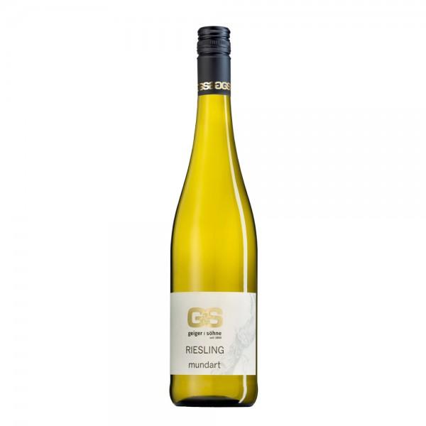 Riesling Weißwein aus Franken Mundart trocken