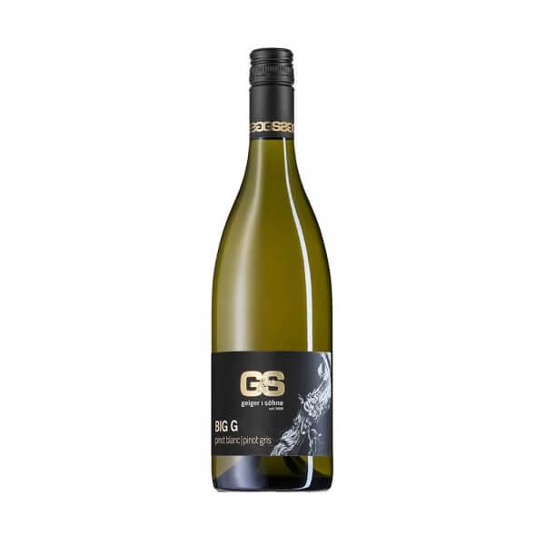 Pinot Blanc | Pinot Gris Weißwein aus Franken Big G trocken Holzfass