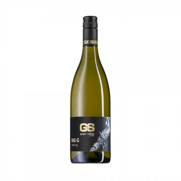 Riesling Weißwein aus Franken Big G trocken Holzfass