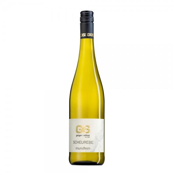 Scheurebe Weißwein aus Franken Mundfein halbtrocken