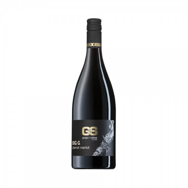 Merlot / Cabernet Sauvignon Rotwein aus Franken Big G trocken Holzfass