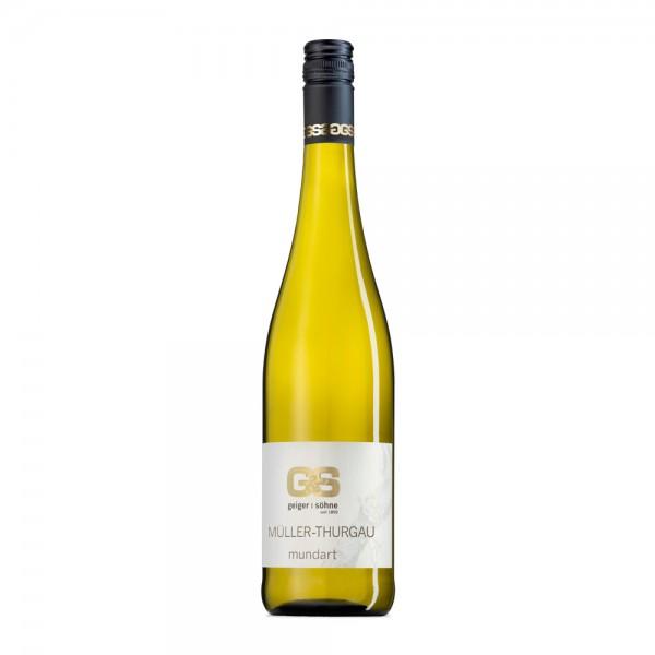 Müller-Thurgau Weißwein aus Franken Mundart trocken